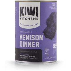 Kiwi Kitchens Venison Canned Dog Food
