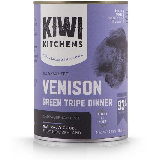Kiwi Kitchens Venison Green Tripe Canned Dog Food