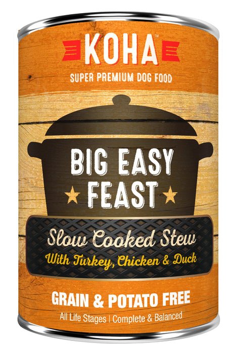 Koha Big Easy Feast Slow Cooked Stew Canned Dog Food