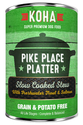 KOHA Pike Place Slow Cooked Stew Canned Dog Food