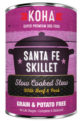 Koha Santa Fe Skillet Slow Cooked Stew Canned Dog Food