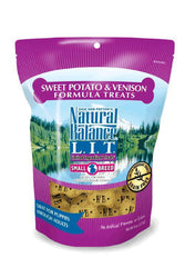 Natural Balance L.I.T. Limited Ingredient Treats Sweet Potato & Venison Formula Small Breed Dog Treats