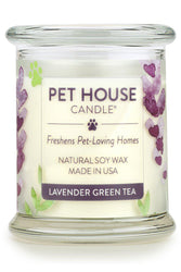 Pet House Candle, Lavender Green Tea