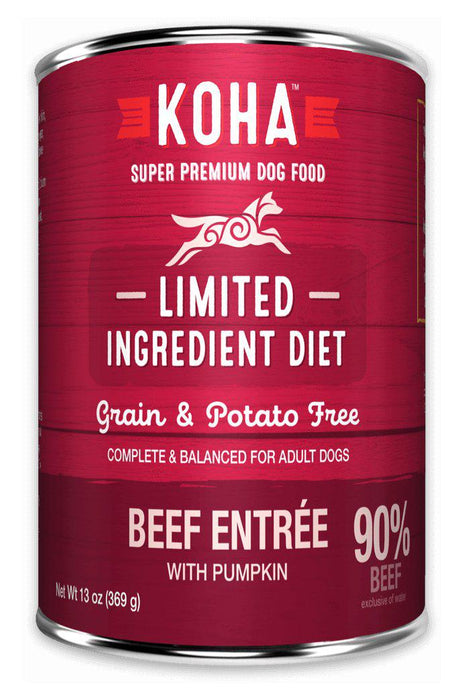 Koha LID Beef Entrée for Dogs