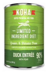 Koha LID Duck Entrée for Dogs