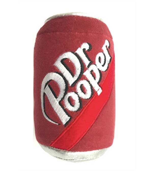 Lulubelle's Power Plush Dr. Pooper Dog Toy