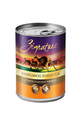 Zignature Kangaroo Canned Dog Food