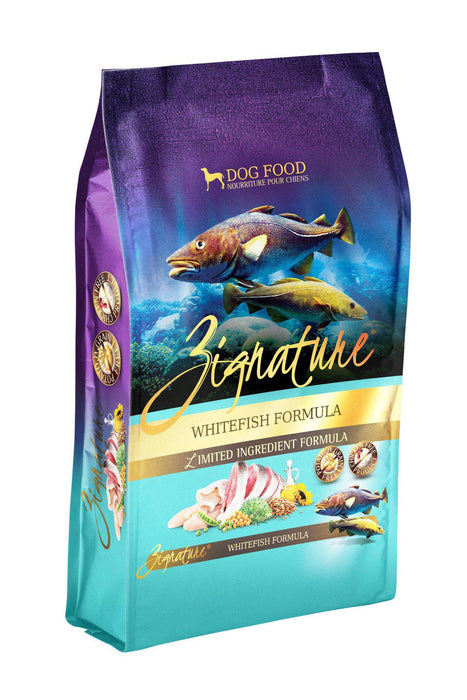 Zignature Whitefish Dog Food