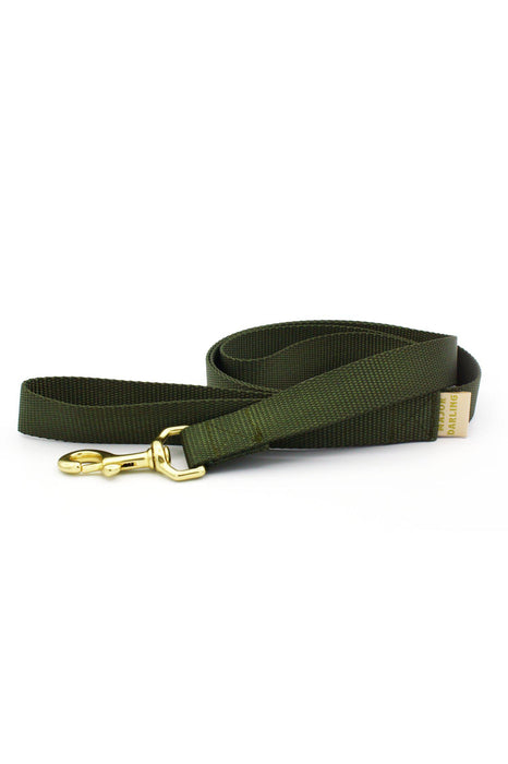 Major Darling Olive Dog Leash
