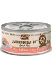 Merrick Limited Ingredient Diet Grain Free Real Salmon Recipe Canned Cat Food
