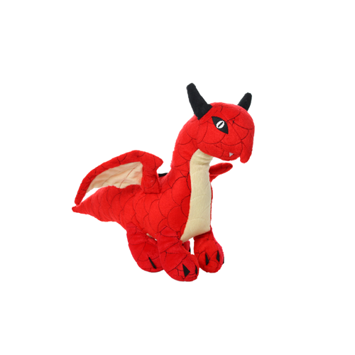 Mighty Dragons Red Dragon Dog Toy