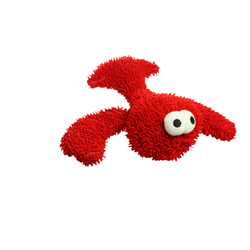 Mighty Micro Ball Lobster Dog Toy