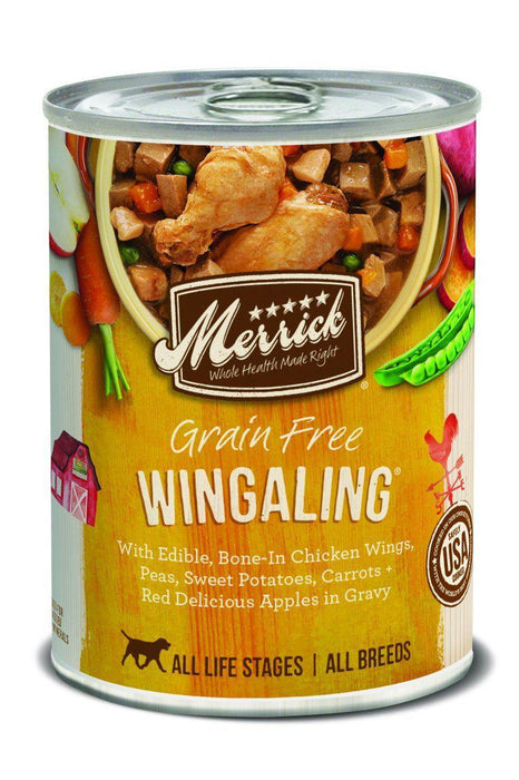 Merrick Grain-Free Wingaling Classic Recipe Canned Dog Food
