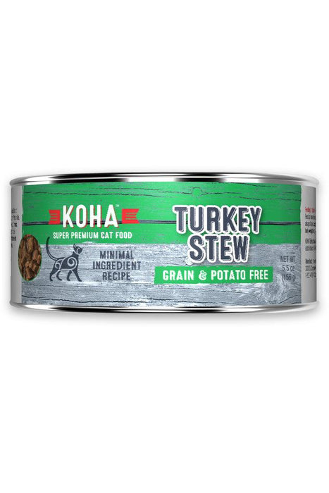 Koha Turkey Stew Canned Cat Food