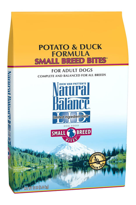 Natural Balance Limited Ingredient Diet Potato & Duck Small Breed Dog Food, 4.5 lb