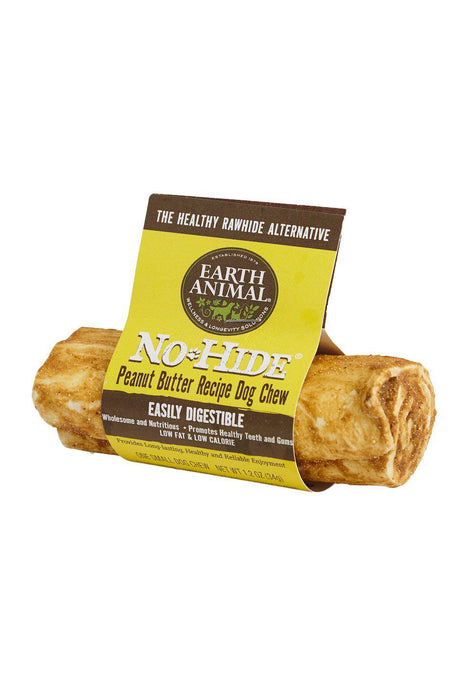 Earth Animal No-Hide Peanut Butter Chews dog treats