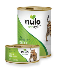 Nulo Freestyle Duck & Tuna Cat Food, 12.5 oz