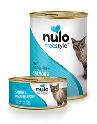 Nulo Freestyle Salmon & Mackerel Wet Cat Food, 12.5 oz