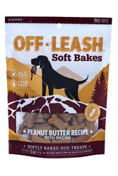 Off-Leash Soft Bakes Peanut Butter Dog Treats