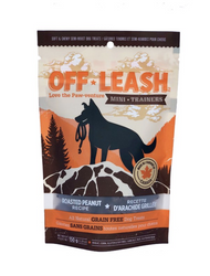 Off-Leash Roasted Peanut Dog Treats, 5.2 oz
