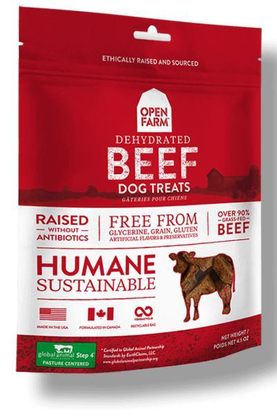 Open Farm Beef Dog Treats
