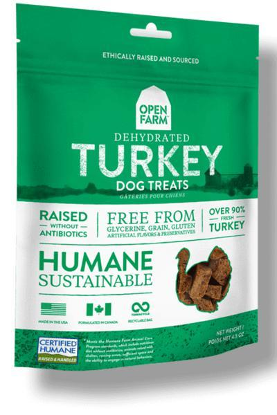 Open Farm Turkey Dog Treats