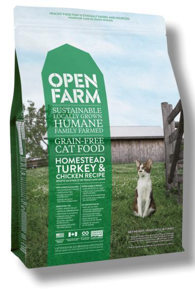 Open Farm Homestead Turkey & Chicken Cat Food