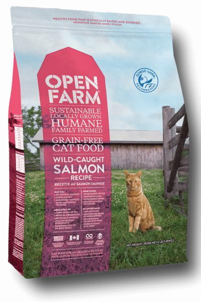 Open Farm Wild-Caught Salmon Cat Food