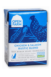 Open Farm Chicken & Salmon Wet Cat Food