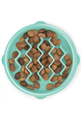 Outward Hound Fun Feeder Wave Mint Dog Bowl, X-Small