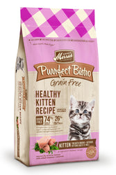 Merrick Purrfect Bistro Grain Free Healthy Kitten Recipe Adult Cat Food