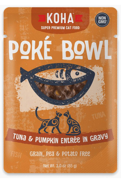 Koha Poke Bowl Tuna and Pumpkin Cat Canned Food