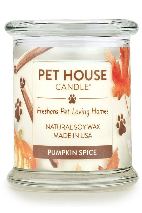 Pet House Candle Pumpkin Spice, 8.5 oz