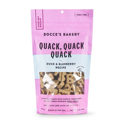 Bocce's Everyday Biscuits Quack Quack Quack Dog Treats