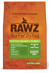 Rawz Chicken & Turkey Dry Dog Food