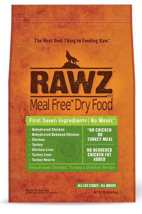 RAWZ Chicken & Turkey Dog Food