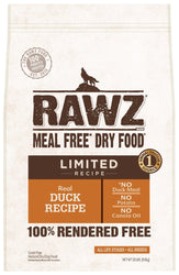 Rawz Limited Duck Dry Dog Food