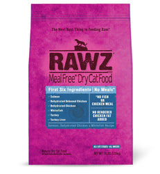 Rawz Salmon, Chicken, & Whitefish Cat Food