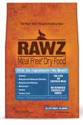 Rawz Salmon, Chicken, & Whitefish Dry Dog Food