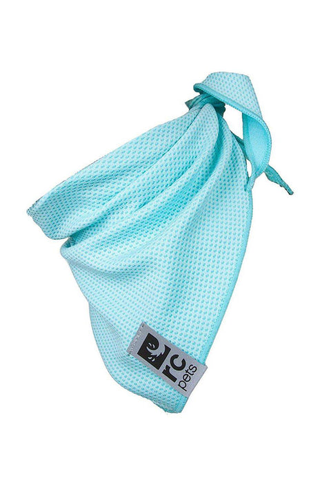 RC Pet Zephyr Cooling Bandana Ice Blue Dog Apparel