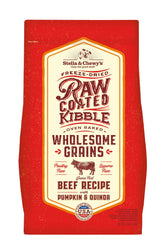 Stella and Chewy's Wholesome Grain Beef Raw Coated Dry Dog Food