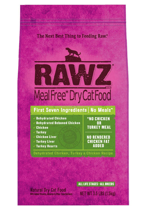Rawz Chicken & Turkey Cat Food