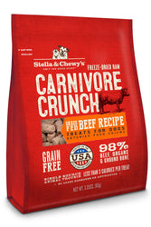 Stella & Chewy's Carnivore Crunch Beef Dog Treats