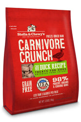 Stella & Chewy's Carnivore Crunch Duck Dog Treats