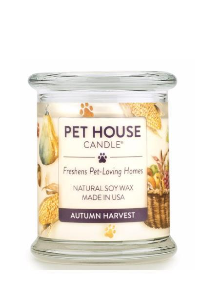 Pet House Candle Autumn Harvest, 8.5 oz