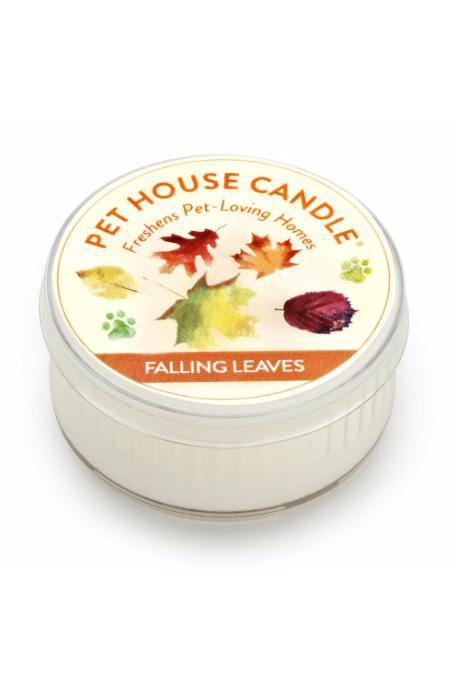 Pet House Candle Falling Leaves, 1.5 oz