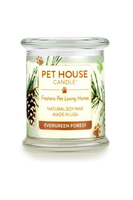 Pet House Candle Evergreen Forest, 8.5 oz