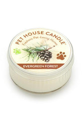 Pet House Candle Evergreen Forest, 1.5 oz