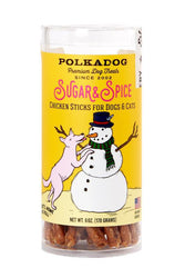 Polkadog Holiday Sugar & Spice Chicken Dog Treats