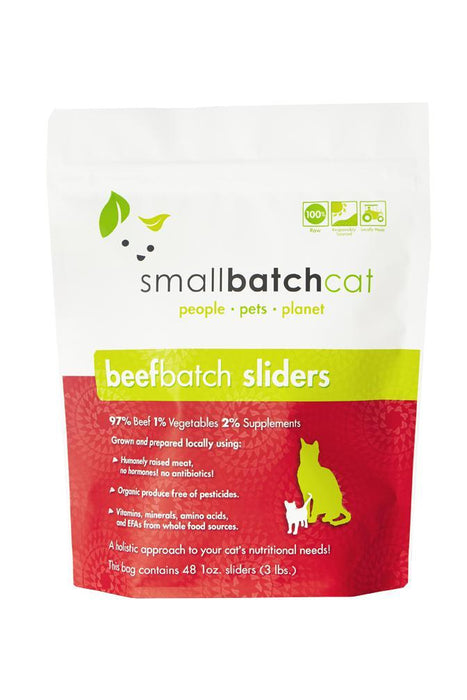 Small Batch Beef Frozen Raw Cat Food